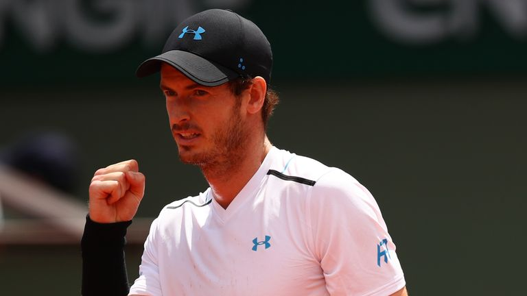 French Open 2017 Results: Andy Murray's Win Highlights Monday's Play