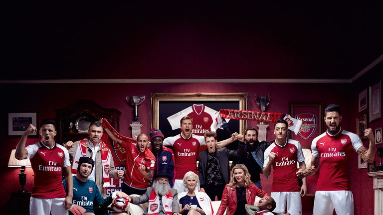 The Gunners launched their new home kit on June 21 (Credit: Arsenal / Puma)