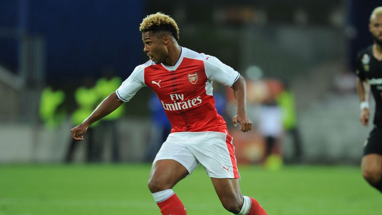 Germany's Serge Gnabry is expected to feature against the Czech Republic on Sunday
