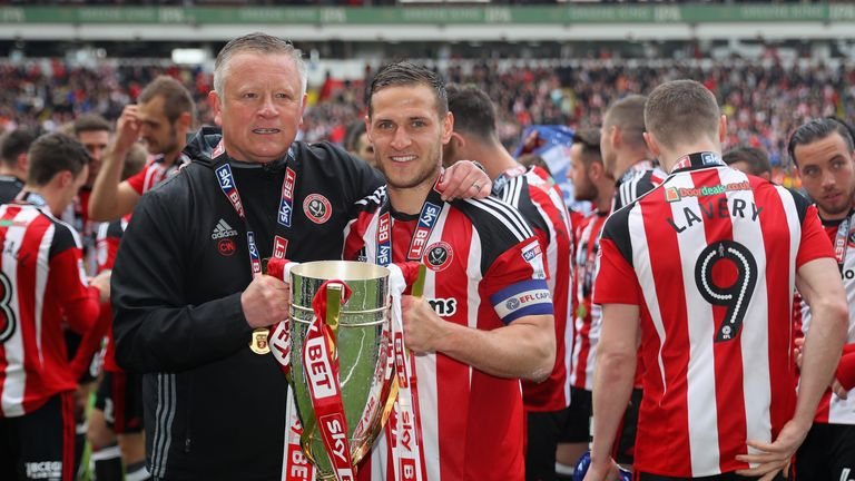 Sheffield United manager Chris Wilder close to signing contract extension
