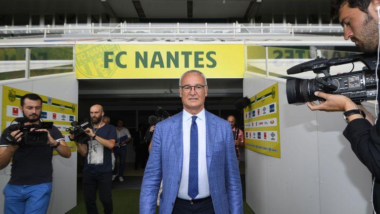 Claudio Ranieri has taken over at Nantes