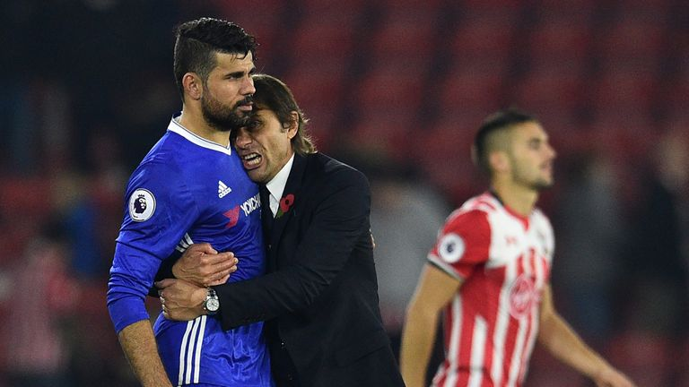 Costa scored 20 goals last season as Chelsea won the Premier League title under Antonio Conte