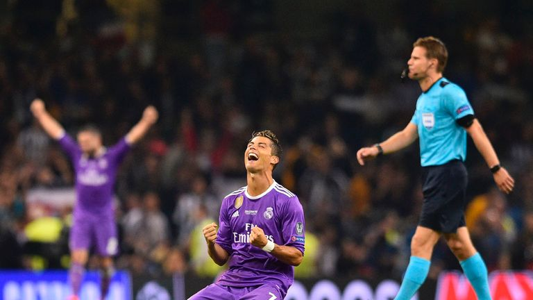 Cristiano Ronaldo scored twice as Real Madrid beat Juventus on Saturday evening