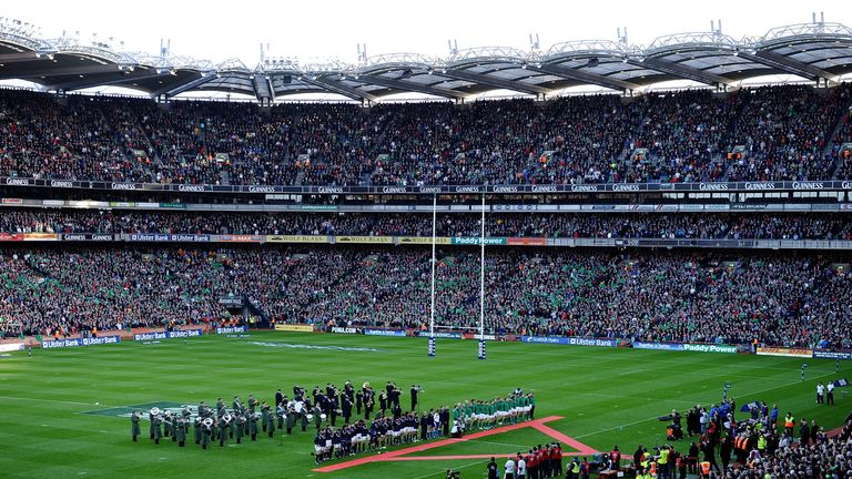 Croke Park last hosted Ireland's rugby team in the Six Nations back in 2010