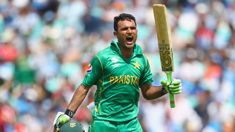 Fakhar Zaman hit a brilliant hundred in his first match against rivals India