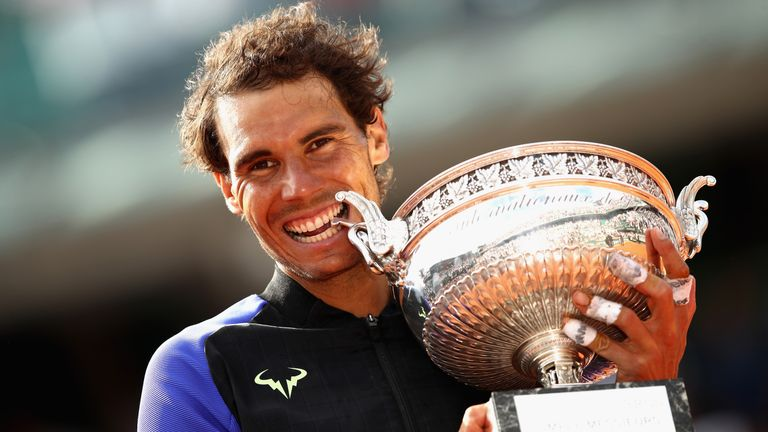 Nadal is a 10-time winner of the French Open