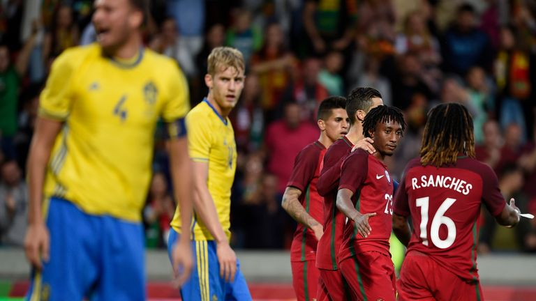 Gelson Martins has five senior caps for Portugal