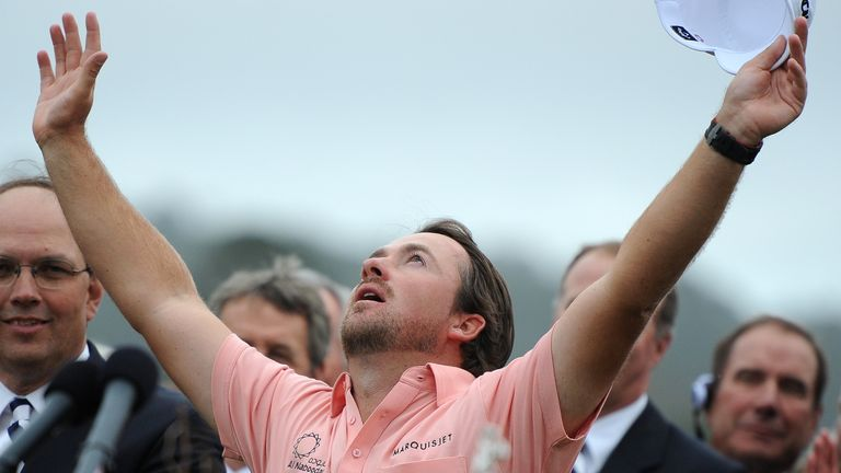 Graeme McDowell claimed a one-shot win at the 2010 US Open