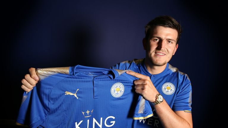 Harry Maguire joins Leicester on a five-year contract ...