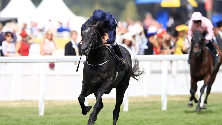 Caravaggio was a brilliant winner of the Commonwealth Cup under Ryan Moore