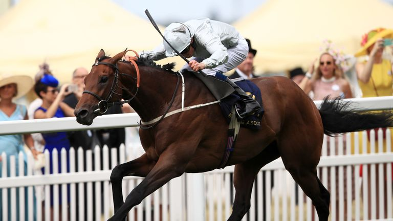 Permian and William Buick: Previously teamed up to land the King Edward VII
