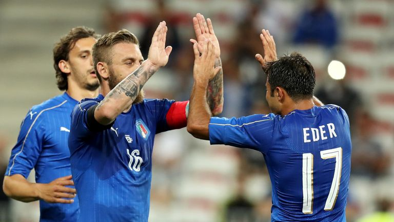 Italy strolled to victory over Uruguay in Nice