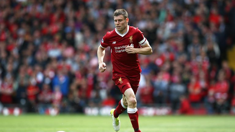James Milner is a doubt for Liverpool's next pre-season friendlies in Germany