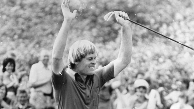 Johnny Miller won The Open in Southport in 1976