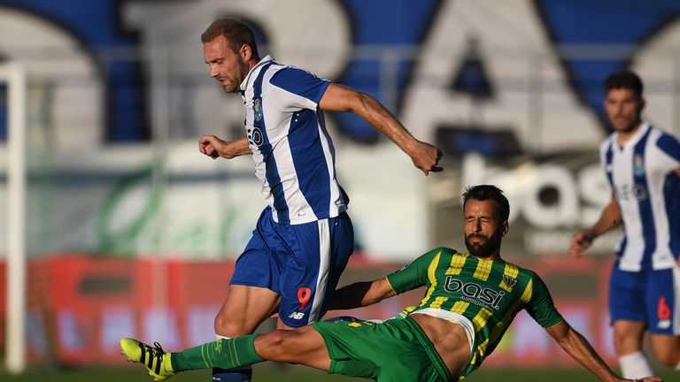 Huddersfield complete signing of striker Laurent Depoitre from Porto