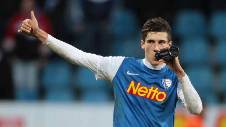 Goretzka started his career at Vfl Bochum