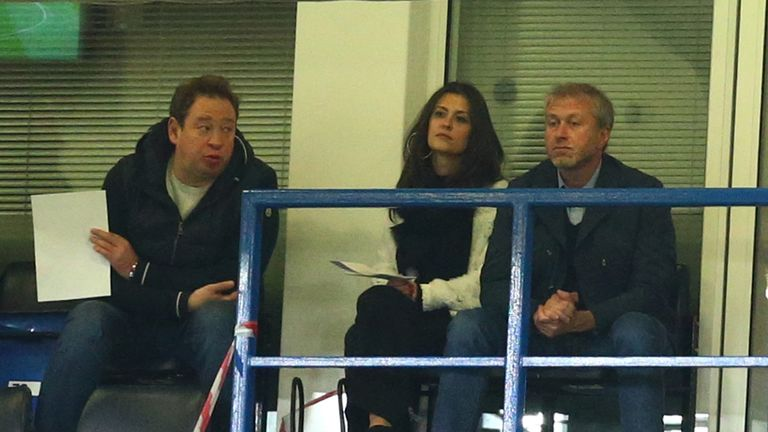 Slutsky is a close friend of Chelsea owner Roman Abramovic