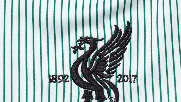 The new kit features an embroidered 125th anniversary commemorative crest