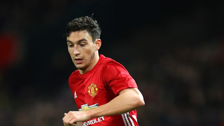Gary Neville has tipped Matteo Darmian to come in at left back at Anfield