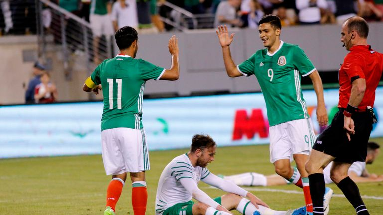 Burnley's Kevin Long makes Ireland debut in 3-1 defeat to Mexico