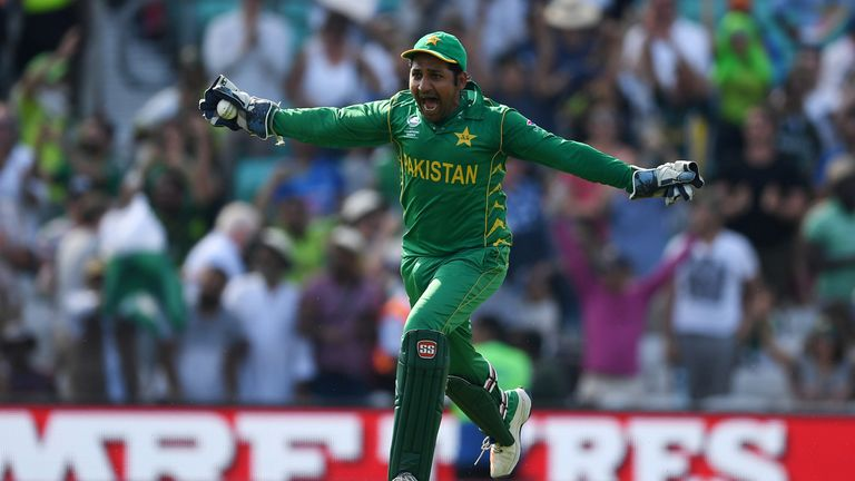 Sarfraz Ahmed hopes Pakistan's Champions Trophy win can be a catalyst for change