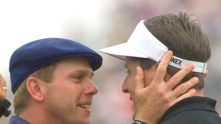Phil Mickelson gave up a lead to compatriot Payne Stewart at Pinehurst in 1999, one of his six runner-up finishes