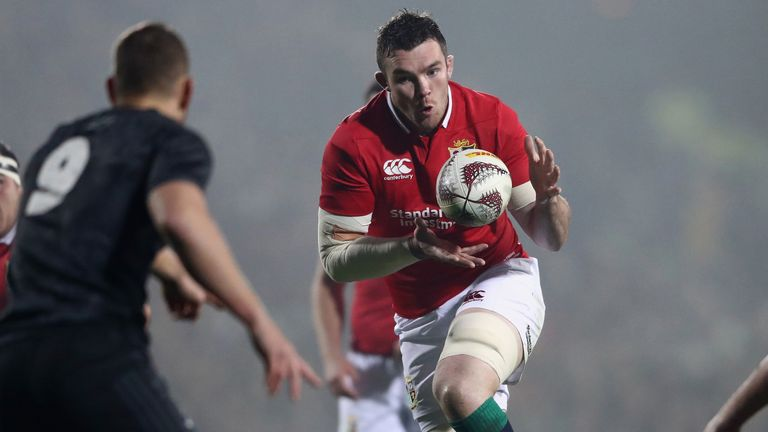 O'Mahony skippered the Lions in their win over the Maori All Blacks
