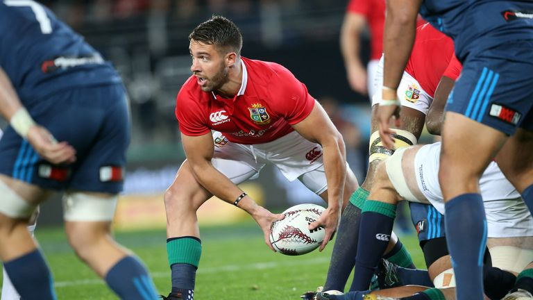 Webb featured regularly for the Lions in New Zealand but was unable to usurp Conor Murray from the starting team