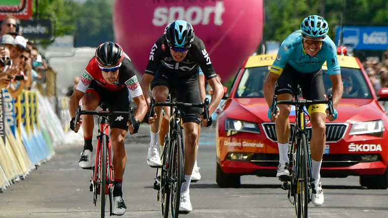Froome's former team-mate Richie Porte is in fine form