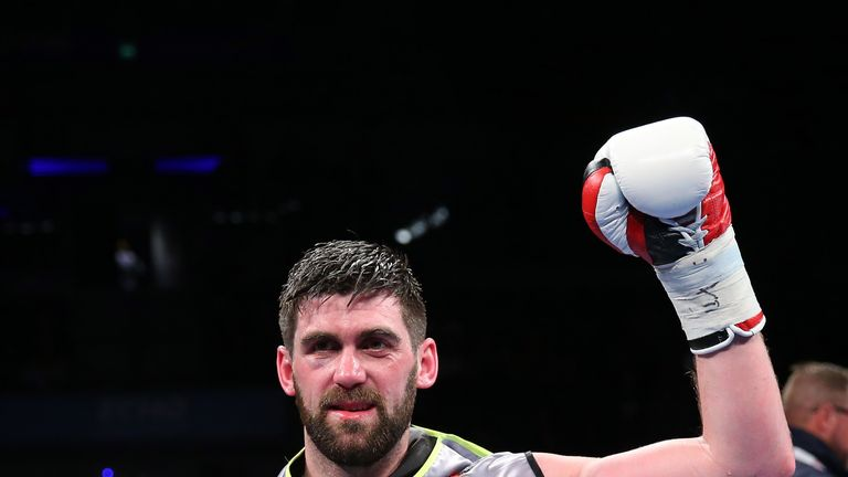 Rocky Fielding will defend his British title against Scot David Brophy