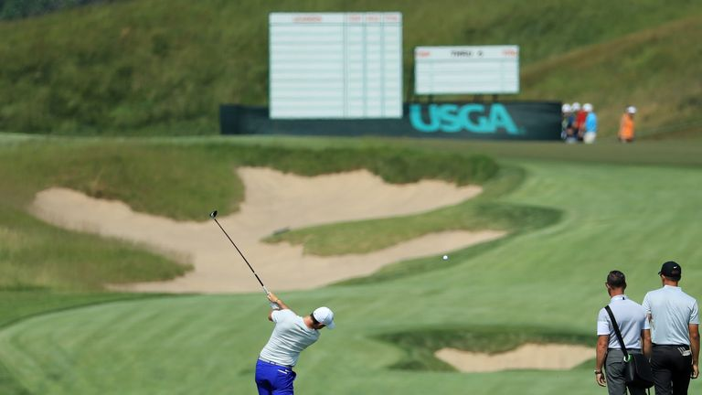 McIlroy believes hitting the fairways should be easier than usual at a US Open