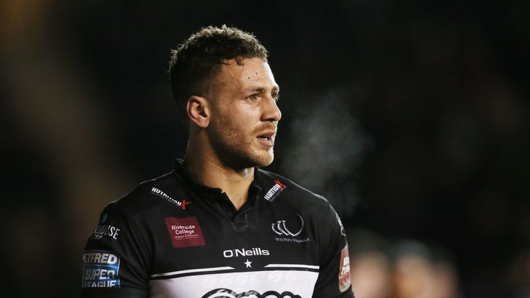Lloyd White added to Widnes' tally on the half hour mark