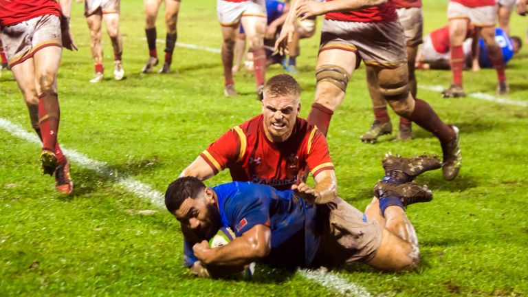 Samoa draw with Scotland to reach RLWC quarters