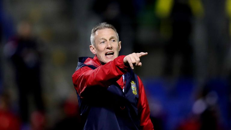 Lions attack coach Rob Howley, criticised by Sean O'Brien for being 'set in his ways'.