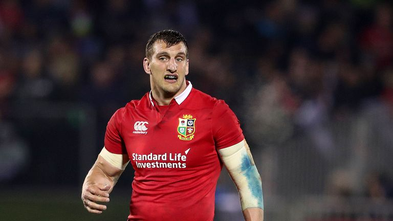 Lions captain Warburton casts doubt over role in opening All Blacks Test
