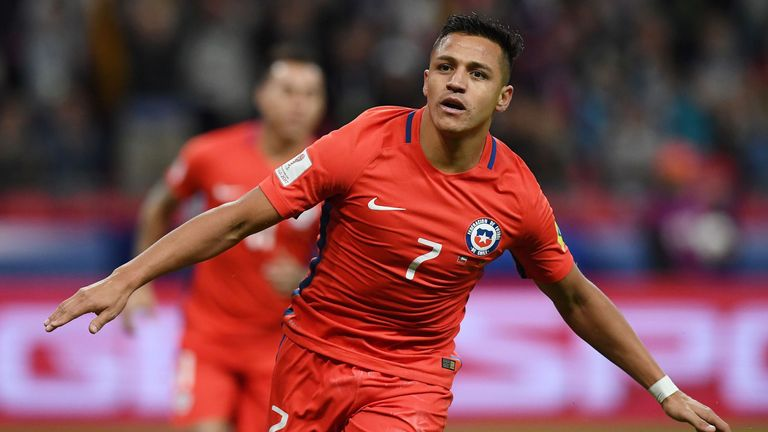 Alexis Sanchez was on target in Chile's win over Ecuador