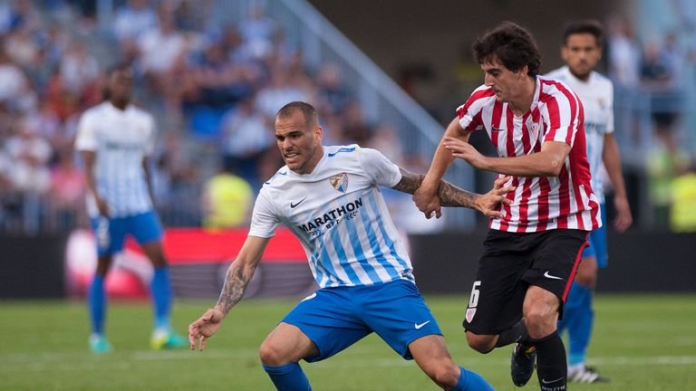 Sandro Ramirez impressed during his first season with Malaga, netting 14 times