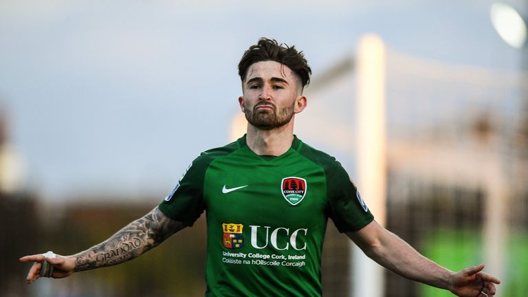 Former Cork City striker Sean Maguire, who Preston signed on Saturday, is in Martin O'Neill's Republic of Ireland thoughts