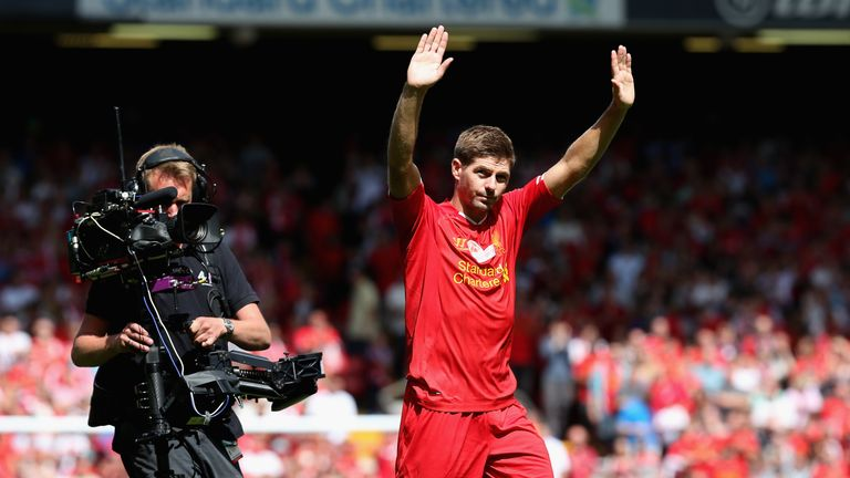 Former Liverpool captain Steven Gerrard will lead England