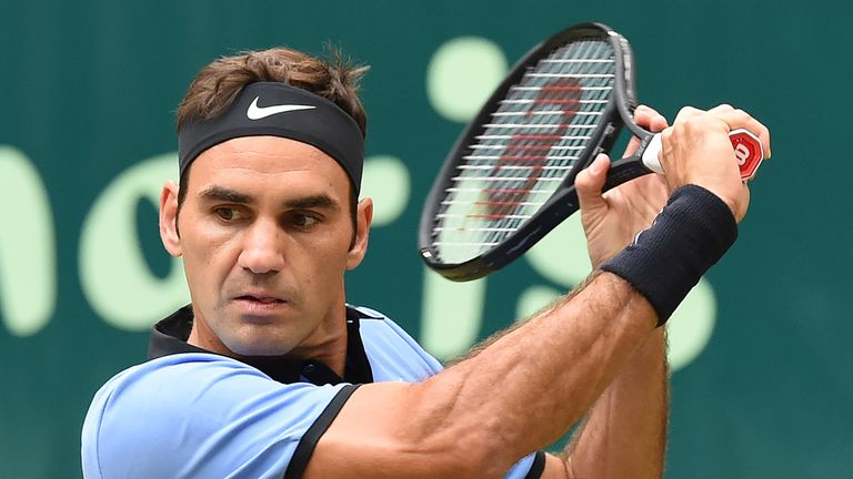Federer will be aiming to win an eighth title at Wimbledon
