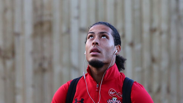 Van Dijk was a target for Liverpool earlier this summer before dropping interest