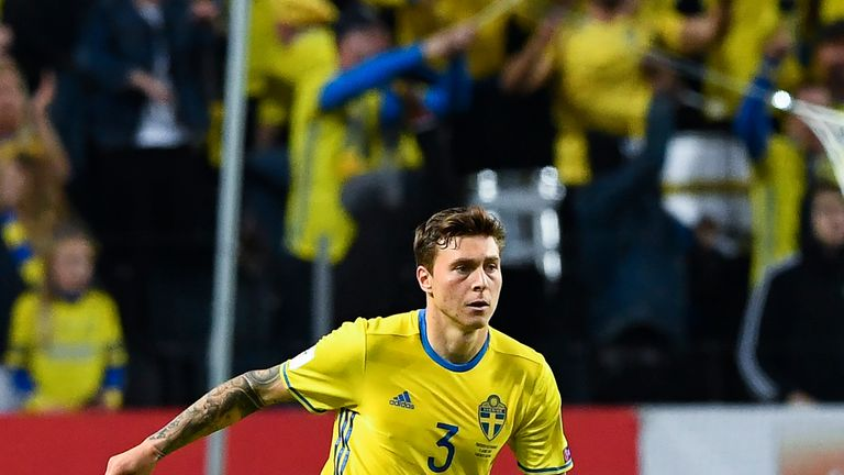 Lindelof has been capped 12 times by Sweden
