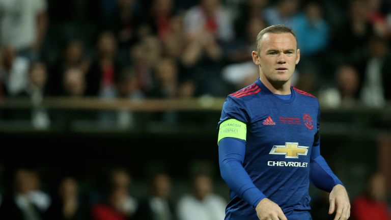 Wayne Rooney has two years remaining on his contract at Manchester United