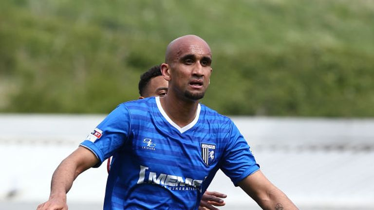 Zesh Rehman played 10 League One games for Gillingham last term