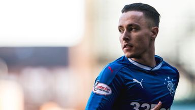 Barrie McKay will not feature for Rangers on Thursday