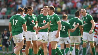 Ireland will look to finish their season on a winning note against Japan on Saturday