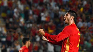 Alvaro Morata stepped off the bench to extend Spain's unbeaten run under Julen Lopetegui