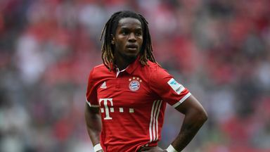 Renato Sanches could look to leave Bayern Munich