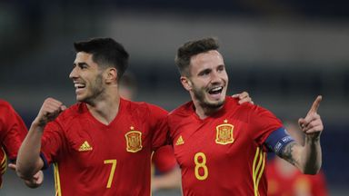Saul Niguez and Marco Asensio will be looking to secure a third straight win for Spain