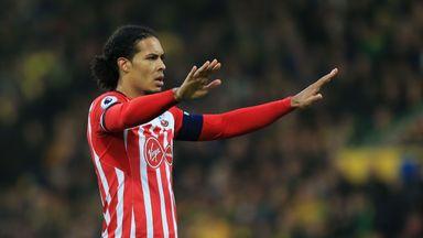 Virgil van Dijk has told Southampton he wants to leave